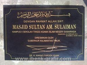 Plang Masjid